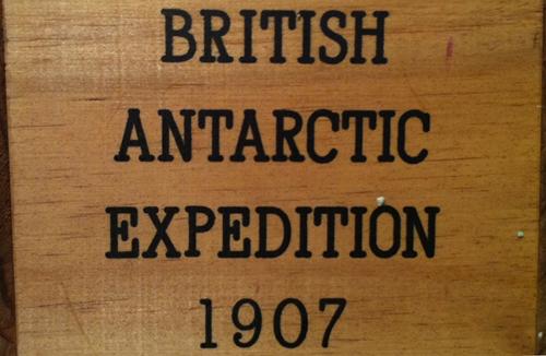 Shackleton Whisky British Antarctic Expedition