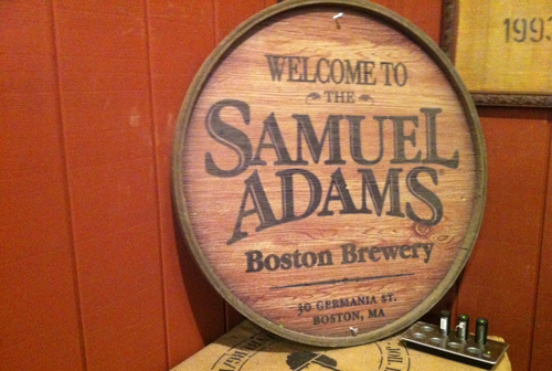 Welcome To Samuel Adams Brewery