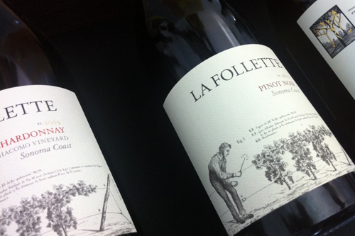La Follette Pinot Noir Newport Wine