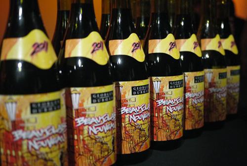 Beaujolais Nouveau Bottles