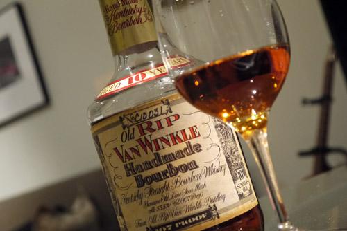 van winkle 10 bourbon whiskey