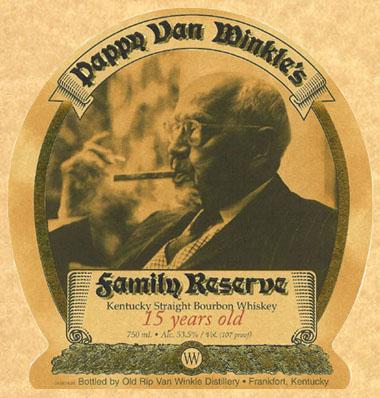 Pappy Van Winkle 15