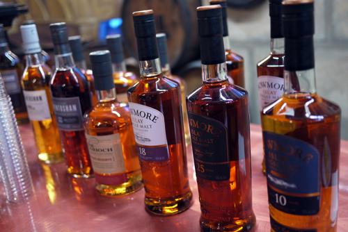 Bowmore_Auchentoshan_Tasting_Whisky
