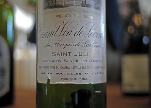 Chateau Leoville Grand Vin de Leoville du Marquis de Las Cases Saint Julien 1979