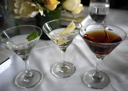 The Art of the Three Martini Lunch and a Martini Recipe