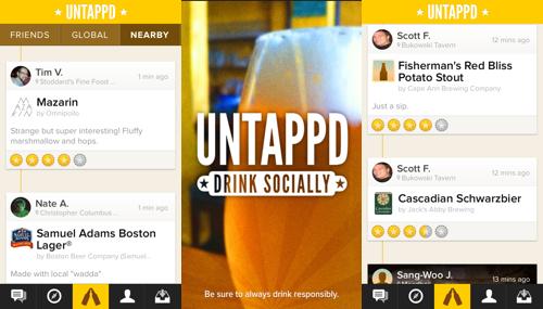 untappd beer app