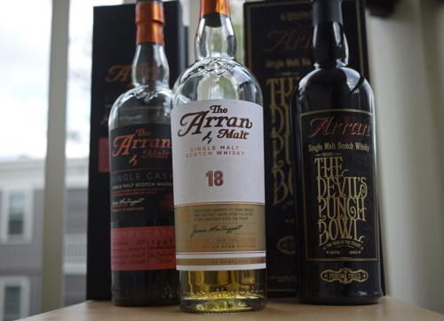 Arran_whiskies