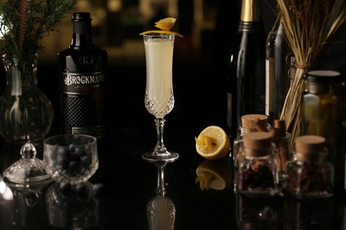 Midnight Zest Cocktail