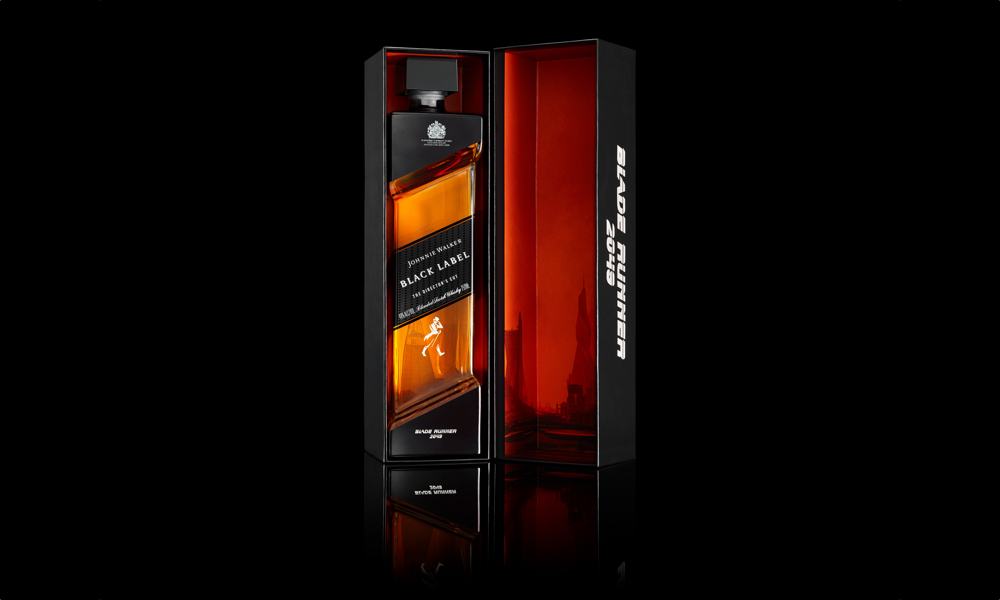 Blade Runner 2049_Limited Edition Johnnie Walker Black Label The Director's Cut_In Box